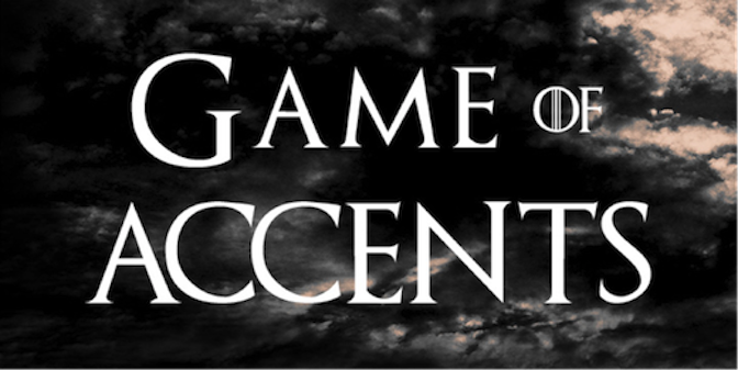 game of accents